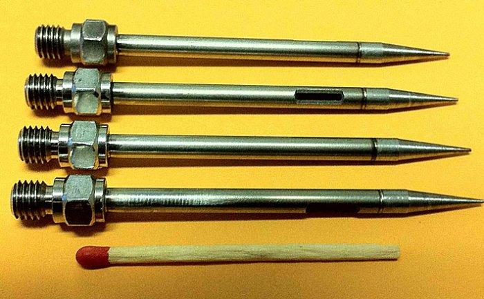 Laser seam welding of stainless steel needles (fillet and butt weld, 20mil seam width)
