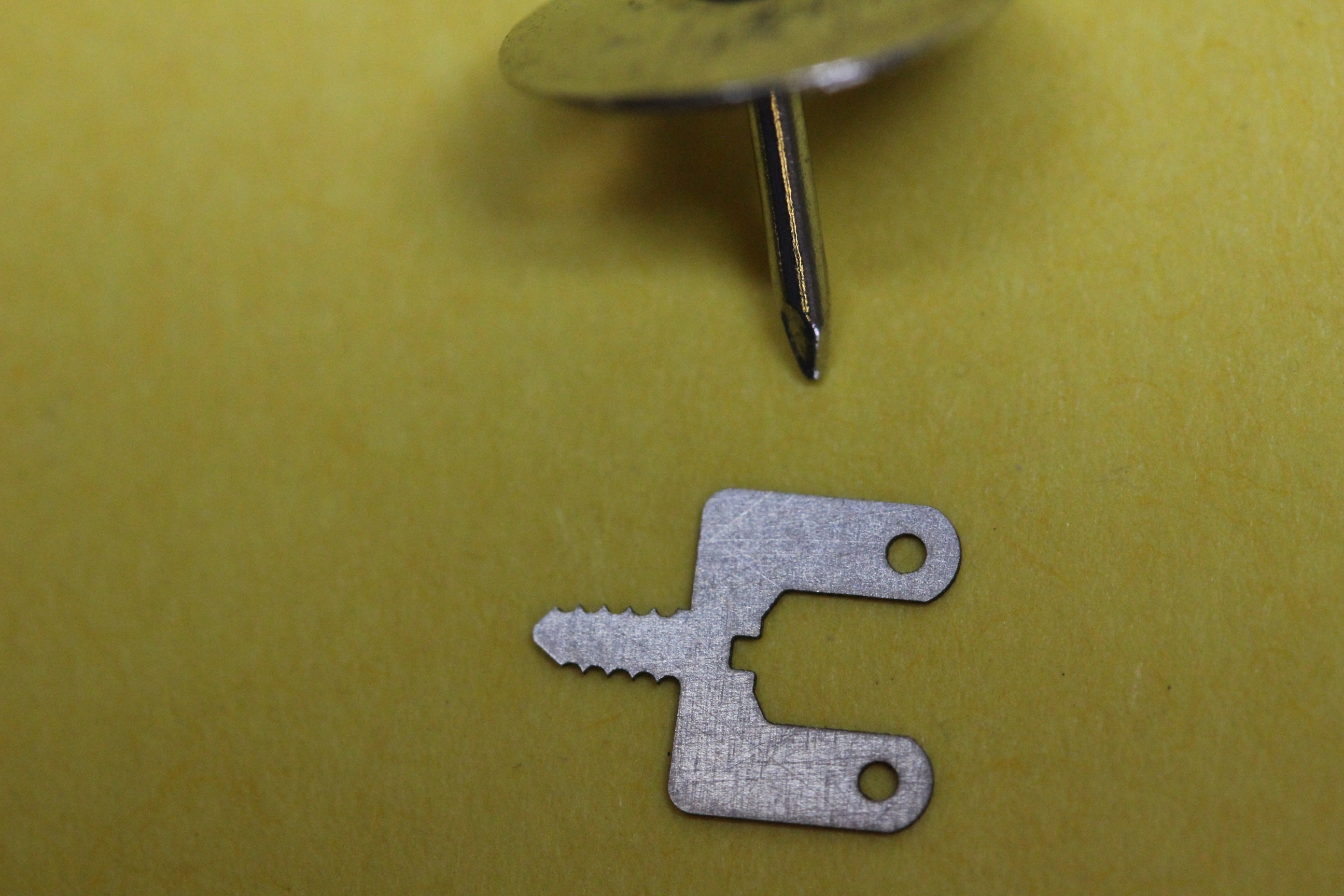 Laser cutting of medical components