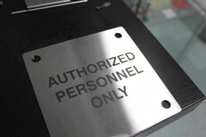 Custom Creative Laser Cut Metal Business Signage